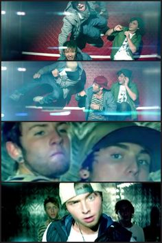 Omg in the first two pictures Wes is just like jumping off the walls, but OMG love the song Chloe!!!! Wes is so funny<3