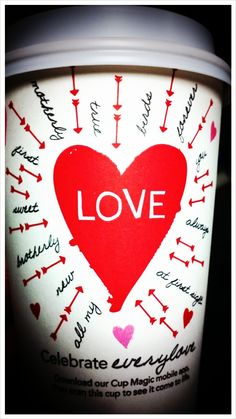 All you need is love, and Starbucks!