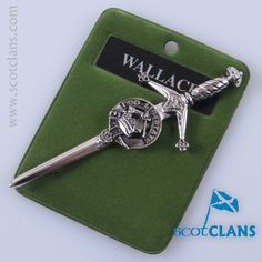 Wallace Clan Crest Kilt Pin. Free Worldwide Shipping Available