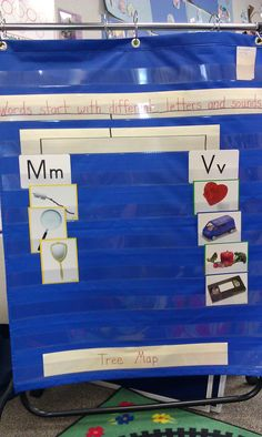 Good idea for introducing letters during the first few weeks of school.