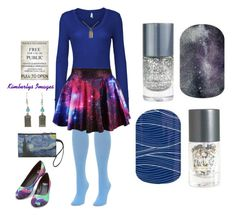 """""""Guess Doctor Who Jamberry Nails"""" by kspantongroup on Polyvore featuring beauty, We Love Colors, LE3NO and POLICE"""
