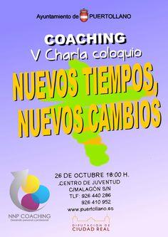 V Charla Coaching: Nuevos Tiempos, nuevos cambios.
