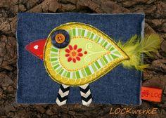 LOCKwerkE: STOFFKARTENTAUSCH Fühl dich frei wie ein Vogel Birds, Card Crafts