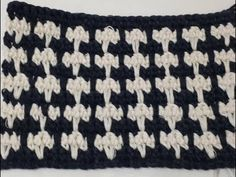 Crochet Stitches Patterns, Stitch Patterns, Crochet Bag Tutorials, Poncho, Couture, Projects To Try, Black And White, Knitting, Crafts