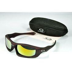 787c73ce3f8  14.99 Replica Oakley Monster Dog Sunglasses Yellow Blue Iridium Brown  Frames Deals www.racal.org. cheap oakley