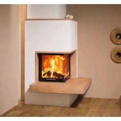 De #Spartherm Mini 2LRh is een inbouw hoekhaard. De Spartherm Mini 2LRh komt het best tot zijn recht wanneer deze in de hoek word geplaatst met een mooi plateau van natuursteen eronder. Uiteraard kan deze #houthaard ook strak in de wand geplaatst worden. #Kampen #Fireplace #Fireplaces #Houtkachel #Interieur