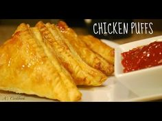 Chicken Patties (چکن پیٹیز) Chicken Puff Pastry Recipe by (HUMA IN THE KITCHEN) - YouTube