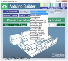 Arduino Builder 0.8.8 compiling and uploading Free Download