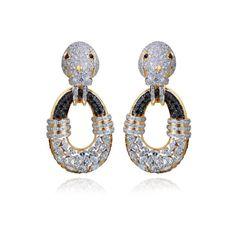 Farah Khan Fine Jewelry Walrus Earring