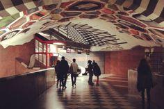 Stockholm's tunnelbana Stockholm (by Elin Sjöberg)