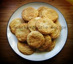Easy Snickerdoodle Recipe
