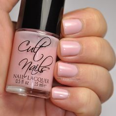 The softer side of #CultNails #JointheCult Enticing via NailinIt