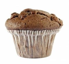chocolate banana muffin with coconut flour - except only use 1 1/2 c brown sugar and half the baking soda...
