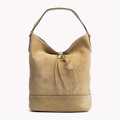 Suede Bucket Bag #TommyHilfiger