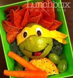 NINJA TURTLE LUNCH!!!! =D