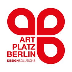 #Logo-Darstellung (#Branding) von #ARTPLATZBERLIN #Design #Studio (Version: rot)