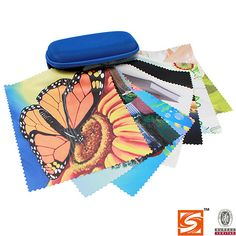 ★SHUANGCHENG microfiber cleaning cloth★ with butterfly tell you spring is coimng