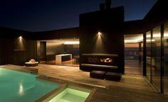 En Nouvelle-Zélande, cette nouvelle demeure fait tourner toutes les têtes! #nouvelle #zélande #demeure #design #décor