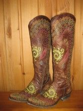 Old Gringo Gaban Brass Boots from RiverTrail Mercantile