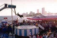 Steel Pier Atlantic City and the Diving Horse. Went in1964. I was afraid for the horse!