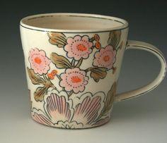 ceramics by Molly Hatch on etsy