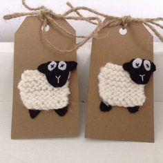 More sheep knitted gift tags now available and a wide variety of sheep cards… Baby Shower Gifts, Baby Gifts, Sheep Cards, Animal Knitting Patterns, Friendship Gifts, Christmas Knitting, Love Gifts, Craft Fairs, Christmas Crafts