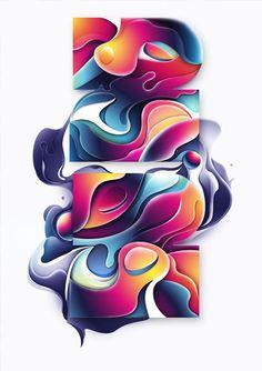 colours......  Digital Art inspiration