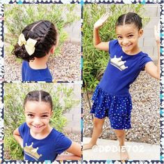 34 Totally Cute Braided Hairstyles For Little Girls - All Hairstyles #braidedhairstylesforlittlegirls