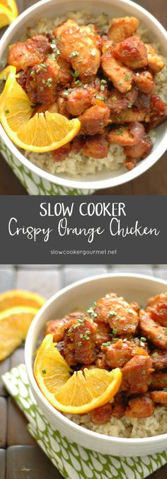 SLOW COOKER CRISPY ORANGE CHICKEN ==INGREDIENTS== 1½ to 2 lb boneless skinless chicken breasts, 2T cornstarch, 2-3T olive oil, ¾ cup orange marmalade, 2T soy sauce, 1t rice vinegar, ½t sesame oil, ½t chili garlic sauce, ¼ - ½t red pepper flakes, ⅛t salt, A pinch of ground pepper ===========