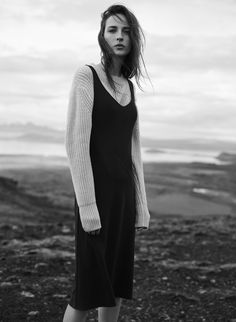 A time for possibility. A time to begin. It's time to make something real. Aritzia #FW16 Campaign.  Shot by: Annemarieke van Drimmelen  Model: Waleska Gorczevski #NowhereEverywhere