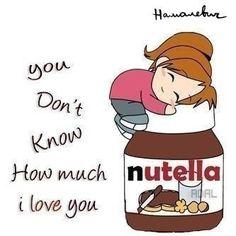 I LOVE nutella!