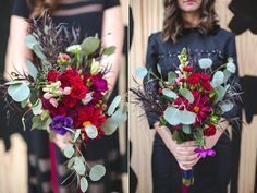 Power Plant Productions wedding :: Jen and Zack :: by Jessica Peach Plum Pear, Snapdragon Flowers, Red Party, Philadelphia Wedding, Boutonnieres, Wedding Bouquets, Wedding Planner, Table Decorations, Plants