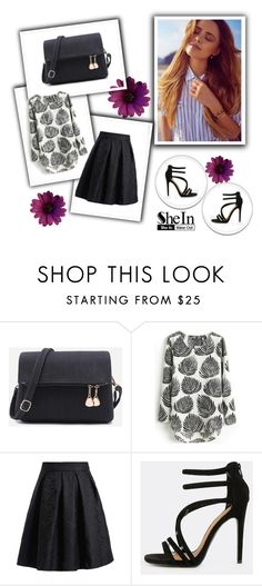 """SheIn 10/II"" by hedija-okanovic ❤ liked on Polyvore featuring shein"