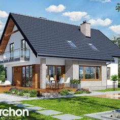 Interesting Find A Career In Architecture Ideas. Admirable Find A Career In Architecture Ideas. Dream House Plans, Modern House Plans, My Dream Home, Future House, My House, Dormer House, Apartment Makeover, Interesting Buildings, Home Design Plans