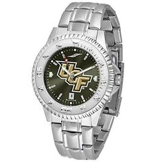 UCF (Central Florida) Knights Competitor AnoChrome Men's Watch with Steel Band by SunTime. UCF (Central Florida) Knights Competitor AnoChrome Men's Watch with Steel Band.