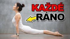 DĚLEJTE TĚCHTO 5 VĚCÍ KAŽDÉ RÁNO A UVIDÍTE JAK VÁS TO... - YouTube Pilates, Health Fitness, Exercise, Gym, Workout, Sports, Photography, Youtube, Advanced Yoga
