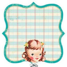 Vintage Frame 17 by Free Pretty Things For You!, via Flickr
