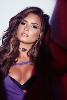 Demi Lovato photographed by Dennis Leupold for Sorry Not Sorry.