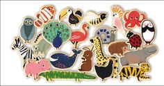 #Animal #Magnets by #Djeco Magnimo 42 dieren magneten 2j from www.kidsdinge.com www.facebook.com/pages/kidsdingecom-Origineel-speelgoed-hebbedingen-voor-hippe-kids/160122710686387?sk=wall http://instagram.com/kidsdinge #Kidsdinge #Toys #Speelgoed
