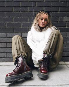 The Vegan Jadon II boot, worn by elee.bs. #drmartensstyle
