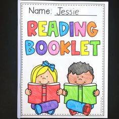 Guided reading response booklet worksheets : This is the perfect activity for early readers to demonstrate their comprehension. It is designed for kindergarten and first grade students. Students answer questions about the plot, characters, setting etc. Grade 1 Reading, First Grade Writing, First Grade Classroom, First Grade Art, First Grade Lessons, Classroom Themes, Guided Reading Lessons, Reading Skills, Teaching Reading
