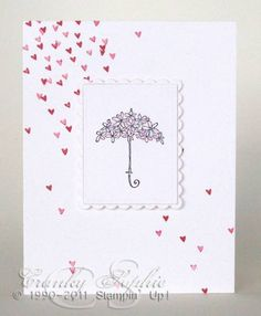 Bridal Shower Hearts By Sophielafontaine Cards And Paper Crafts At Splitcoaststampers
