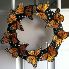 Excited to share this item from my shop: Butterfly Wreath ,Spring Wreath ,Summer Wreath,Garden Wreath ,Country Wreath – BuzzTMZ Wreath Crafts, Diy Wreath, Mesh Wreaths, Holiday Wreaths, Fun Crafts, Diy And Crafts, Paper Crafts, Diy Crafts To Sell On Etsy, Butterfly Crafts