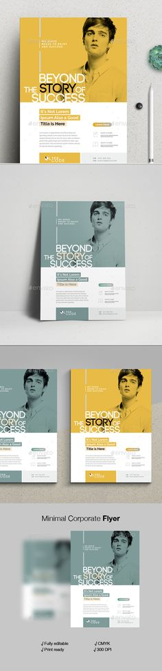 #Minimal #Corporate #Flyer - Corporate Flyers