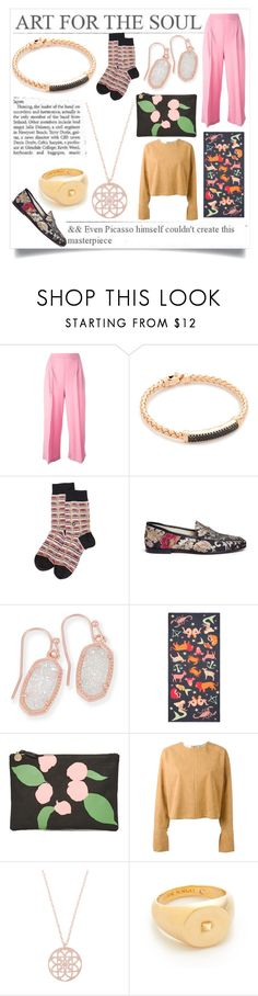"""Life isn't perfect"" by emmamegan-5678 ❤ liked on Polyvore featuring MSGM, Bronzallure, Stance, Sam Edelman, Kendra Scott, Karen Mabon, Clare V., STELLA McCARTNEY, Eddie Borgo and modern"