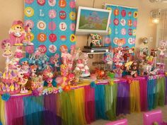 Lalaloopsy Candy Table....LOVE IT!