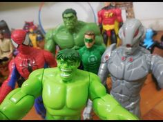 Hulk X Ultron / Lanterna Verde Homem Aranha Spider-Man Imaginext lego Ma... #homemaranha #homem #aranha #spider #spiderman #peterparker #avengers #vingadores #toys #toys #おもちゃ #barbie #dolls #doll #kids #kids  #puppet #babyalive #lego #imaginext #marvel #DC #Comics #escola #school #educação #education  #lol #usa #funny #good #joke #Child #children #youtube #video #videos #crianças #criança