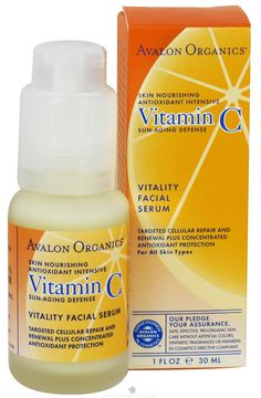 Avalon Organics Vitamin C Serum is one of those inexpensive products that works like crazy. It improves breakouts, and skin looks smooth and clear. Skin Firming, Skin Brightening, Charcoal Mask Benefits, Avalon Organics, Advanced Skin Care, Skin Care Masks, Organic Vitamins, Facial Serum, Good Skin