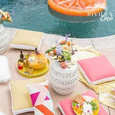 ☀️Let's Just Do A #Picnic By The #Pool 🍹🥗🍰 Because It's #Thursday 😍🌺#RivieraCoco #Lifestyle 🌈 #bikini #summer #fun #goodfood #cheers #enjoylife #love #happy #live #friends #family #girl #smile #followme #sun #beauty #travel #life #beach #music #sunset #party #trendy