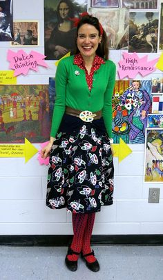 Cassie Stephens: What the Art Teacher Wore #154